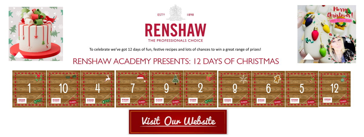 Renshaw 12 days of Christmas