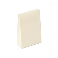 BOX ENV.TOP OPEN 170X70X235MM IVORY EMBOSSED