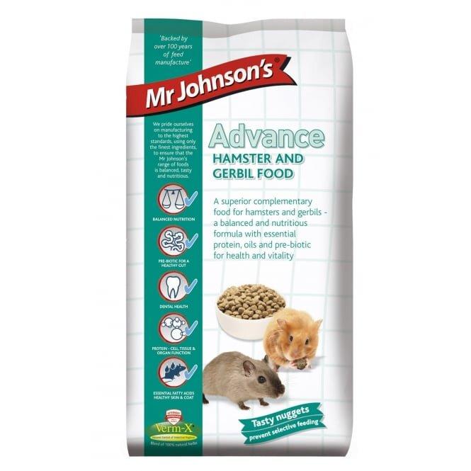 Mr Johnsons Advance Hamster & Gerbil 750g