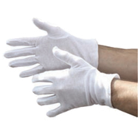 Bleached White Mens Forchette Glove, 600/Case