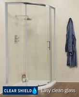 SONAS K2 SINGLE DOOR QUADRANT SHOWER DOOR 900MM (855MM TO 880MM ADJUSTMENT)