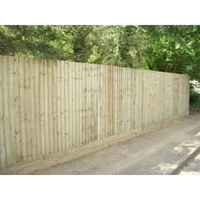 BAY 1 FEATHER EDGE FENCE 3M X 1.8M