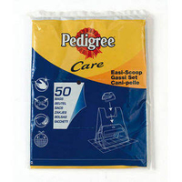 Pedigree Care Easi-Scoop Poop Scoop 50 Bag Refill Pack x 14