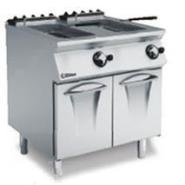 Gas Fryer 2x15L -2 Wells/2 Baskets/2 Grids 800x730x870-900mm