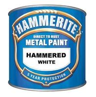 HAMMERITE HAMMERED WHITE 5 LTR