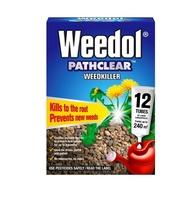 Weedol Pathclear Weedkiller 12 Tubes - 240m2
