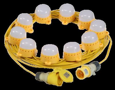 110V LED 20M Festoon KIT - 2M Spacing