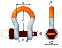 Gunnebo ROV Safety Bow Shackle | No 860