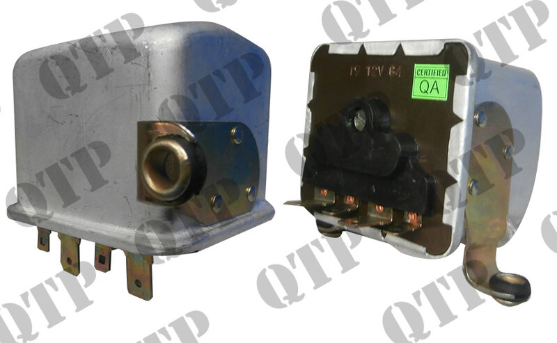 Tractor Voltage Regulator Control Box Spade Terminal Ford Fordson Super Dexta