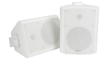"6.5"" Amplified Stereo Speaker Set BC6A White"