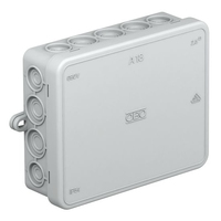 A18 JUNCTION BOX 125X100X40 WITH TERMINAL.