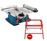 BOSCH GTS 10 XC 110VOLT 254MM TABLE SAW + Free GTA 60w Stand (Ploughing Special Discount Price)
