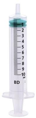 BD Emerald 10ml Hypodermic Syringe Luer Slip Eccentric (100)