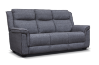 spencer fabric sofa grey 1