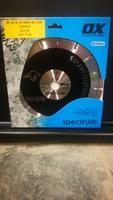 SPECTRUM BLACK/RED TURBO BLADE 230MM