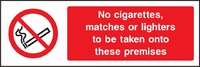 Prohibition and Smoking Sign PROH0014-1060