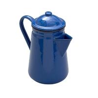 Falcon Enamel Coffee Pot 13cm/1.3L in Blue