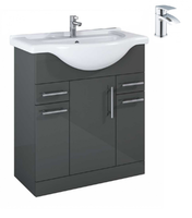 Sonas Belmont Gloss Grey 75 Pack-Corby - *Special Offer