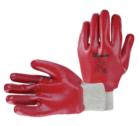 PVC KNIT WRIST GLOVES PR