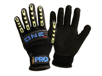 Pro One Plus Anti Vibration Glove Black