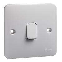 Schneider LWM 1 gang intermediate 10AX plate switch