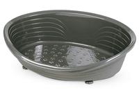 Straka 77 Plastic Dog Bed (77cm Base) - Charcoal