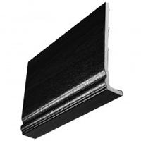 BLACK PVC FASCIA 225MM X 5MTR LENGTH