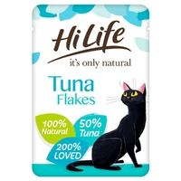 HiLife 'ION' Cat Pouch Complete Tuna Flake 70g x 18