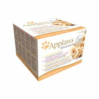 Applaws Cat Can - Chicken Selection Multipack 70g x 12