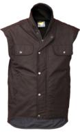 CT Oilskin Fleece Lined Sleeveless Vest