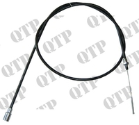 Trailer Brake Cable Threaded 1800mm