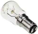 G.E 15W SBC PYGMY LAMP CLEAR