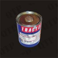 Paint 1 Ltr Gloss Black - Tractol