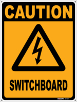 CAUTION Switchboard