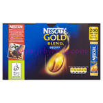 Nescafe Gold Blend DECAFF STICKS x200