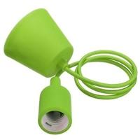 Green Silicone Pendant