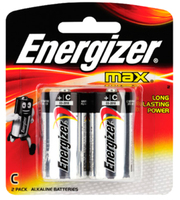 Energizer Max C Battery Packet 2