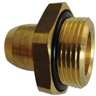 Straight Adaptor Male Thread to Tube