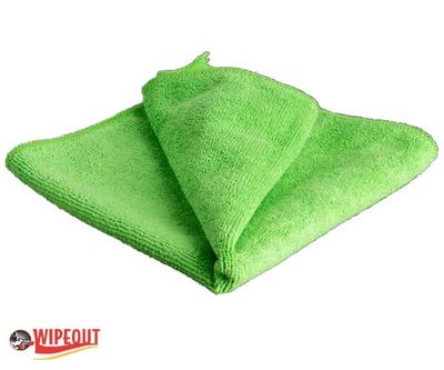 green microfiber cloths