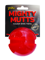 Pet Love Mighty Mutts Rubber Ball - Medium x 1