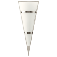 EGLO Pascal 1 Satin Nickel and Opal Glass Wall Light IP20 | LV1902.0102