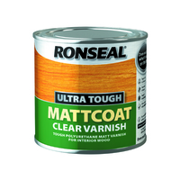 RONSEAL ULTRA TOUGH MATTCOAT CLEAR VARNISH 250 ML