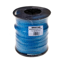 8mm Blue Poly Rope Reel 110m (C483)