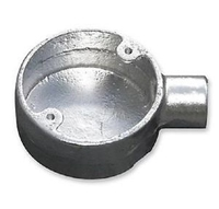 Conduit Box Steel 25mm End Box