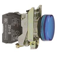 Telemecanique 24V Blue Round LED Pilot Light
