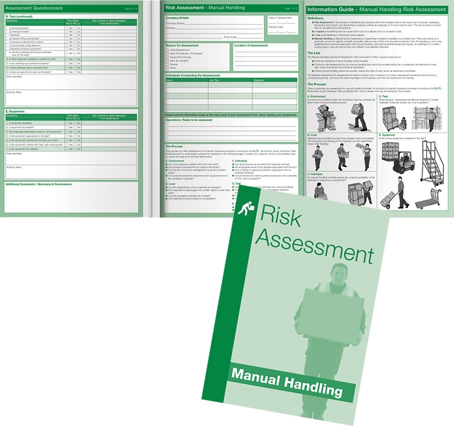 Manual Handling Risk Assessment Kit  Advanced Safety  Safety In