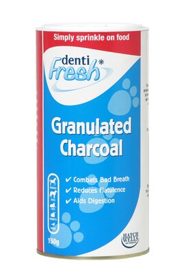 Hatchwell's Denti-Fresh Granulated Charcoal 150g x 1