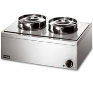 Lincat LRB2 Bain Marie Dry Heat 2 x 4.5 Litre 555x400x260mm