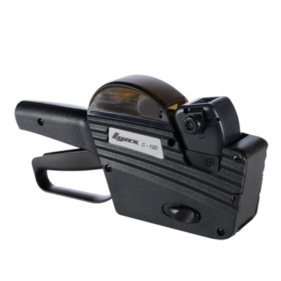 LYNX C-10D One-Line Price Gun with 10 Bands (Incl.Date Bands)