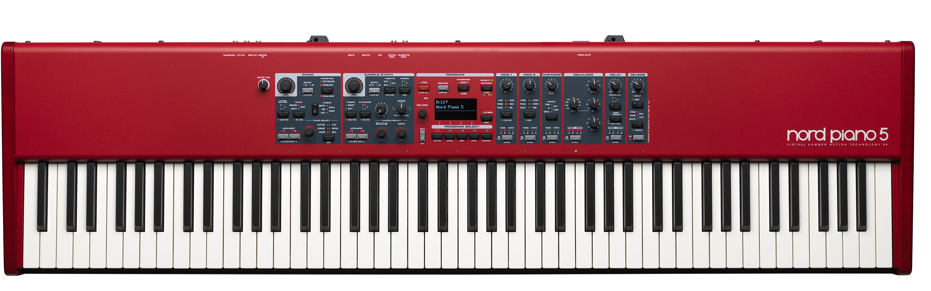 Nord Piano 5 88-note weighted keyboard